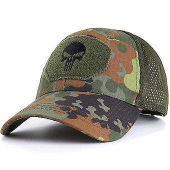Military Skull Baseball Caps Ghost Camouflage Tactical Army Combat Paintball