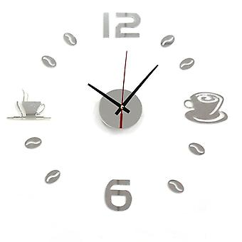 3d- Watch Wall Clocks- Horloge Acrylic Mirror Stickers For Home Decoration,