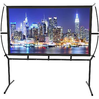 Screen Home Cinema 233X139Cm (100 '') 16: 9 Mobile Projector Screen