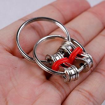 Autism Adhd Anti Stress Fidget Key Ring Hand Spinner
