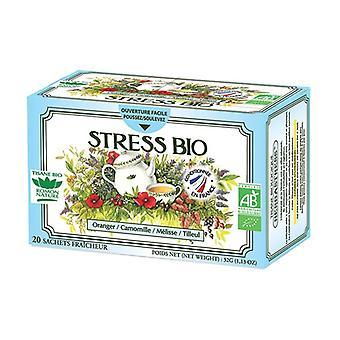 Organic Stress herbal tea 20 sachets 20 infusion bags