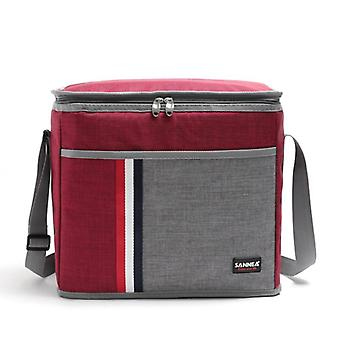 New Fashion 9l Waterproof Denim Retro Classic Cooler Bag Thermal Aluminum Film