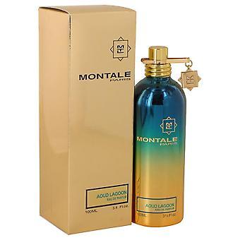 Montale Aoud Lagoon Eau De Parfum Spray (Unisex) Montale 3,4 oz Eau De Parfum Spray