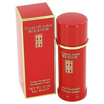 Rode deur Deodorant crème door Elizabeth Arden 1.5 oz Deodorant crème