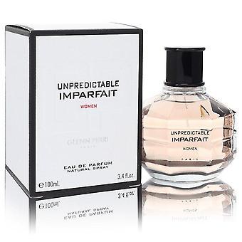 Unpredictable Imparfait Eau De Parfum Spray By Glenn Perri 3.4 oz Eau De Parfum Spray