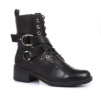 Regarde Le Ciel Womens Emily 15 Leather Biker Boot