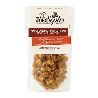 Maple Syrup & Roasted Pecan Popcorn