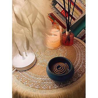 Pyöreä kirjontapöytä Placemat Nordic Style Liukumaton Lämmöneristys huonekalut