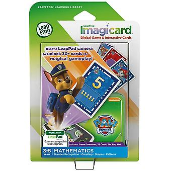 Leapfrog game imagicard paw patrol mathematics