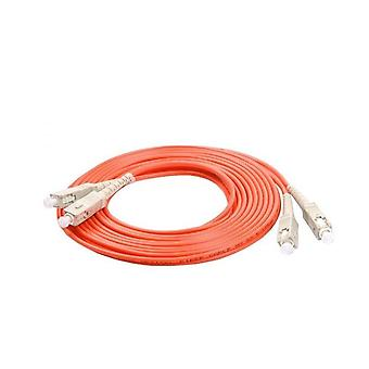 Sc/upc Duplex 2.0mm Mm Om1 Jumper Fiber Optic Patch Cord Cable