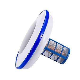 Solar power anion copper ion swimming pool water purifier algae elimination device