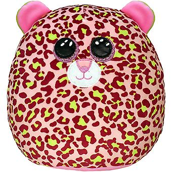 """TY Lainey Leopard Squish-A-Boo 10"""""""