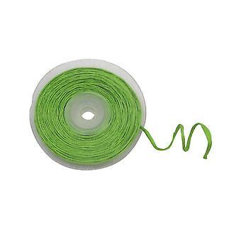 Rouleau de raphia avec fil métallique vert 10 m