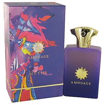 Amouage Myths by Amouage Eau De Parfum Spray 3.4 oz