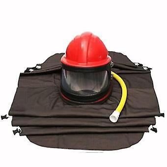 Máscara de seguridad del casco de chorro de arena