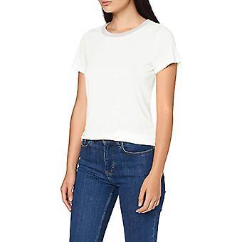 Q/S designed by T-Shirt Kurzarm, White (0100 White), M Woman(2)