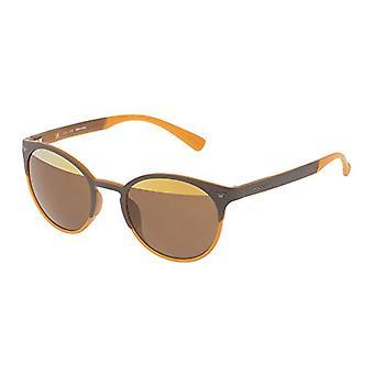 Police SPL162V506L2H Sonnenbrille, Braun (Marr n), 50.0 Unisex-Erwachsene