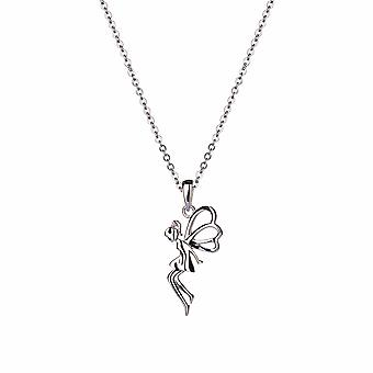Kalini - Enchanted Fairy Icons Pendant - 40cm +3cm extender - Silver - Jewellery Gifts for Women from Lu Bella