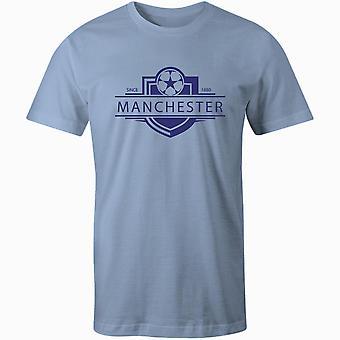 T-shirt da calcio con badge del Manchester City 1880