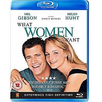 Co kobiety chcą Blu-ray