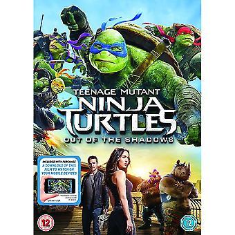 Teenage Mutant Ninja Turtles: Out Of The Shadows DVD + Digital Nedladdning