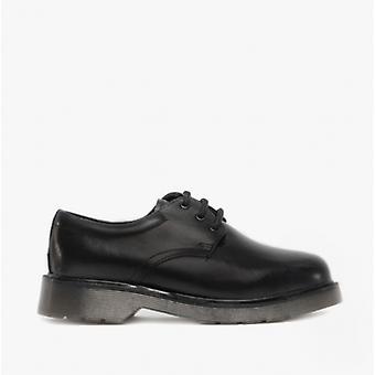 Roamers Devin Boys läder Derby skor svart