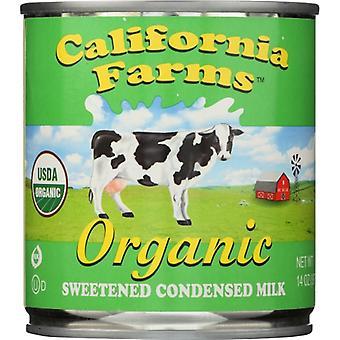 קליפורניה חוות חלב מרוכז Sweetnd או, במקרה של 12 X 14 עוז