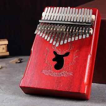 17 Teclas kalimba mogno polegar piano reed 17 teclas teclado mini piano de alta qualidade madeira de madeira african kalimba finger piano