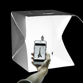 Összecsukható light room LED Fotóstúdió Fotózás Light Tent Háttér Mini Box
