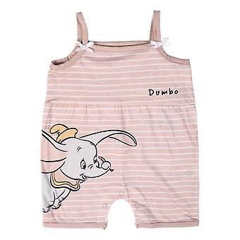 Dětský romper oblek bez rukávů Disney Pink