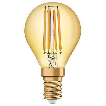 Osram LV293496 1906 LED 35W Vintage Filament Gold Glass Mini Globe SES Bulb