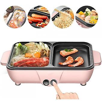 Electric Hot Pot Oven, Double Temperature Control Household Multifunctional Capacity