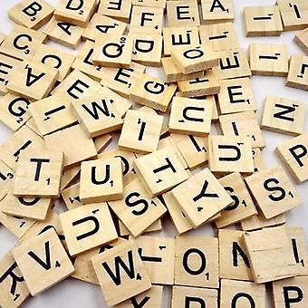 Puiset aakkosruudut Mustat kirjaimet & numerot