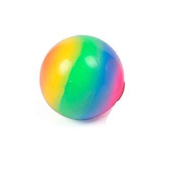 Bolas de Estresse Rainbow Espuma macia, Espremer Bolas Macias.