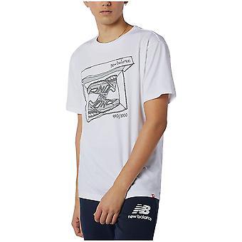 New Balance MT11542WT universal all year men t-shirt