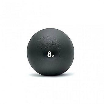 アディダス8kg加重スラムデッドボールバウンスジムクロスフィットボクシングフィットネス - ブラック