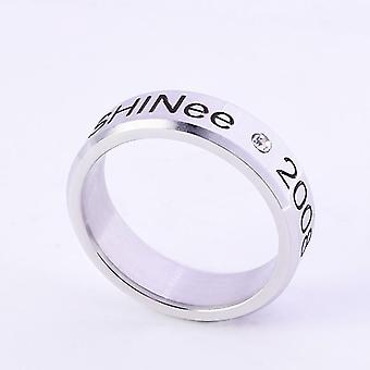 Simple Style de mode Kpop Stray Alloy Ring