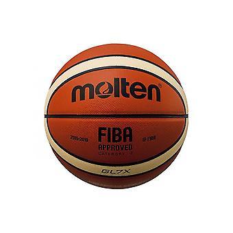 Sula BGLX Top Grain Nahka Virallinen GB Parallel Pebble 12 Panel Basketball