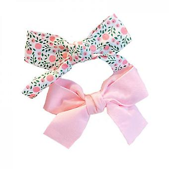 Fairy Bow Floral Hairpin