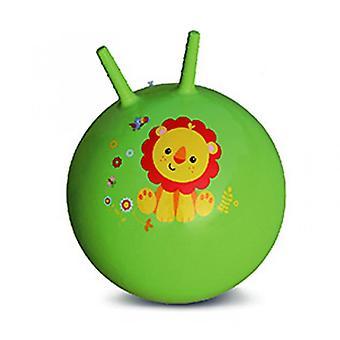 Croissant stuiterende bal baby opblaasbare speelgoedbal (groen)