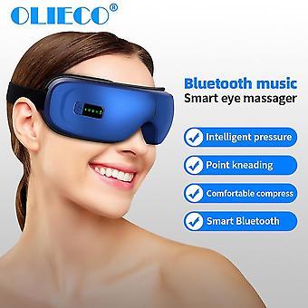 תרפיה עיניים נטענת מעסה SPA לחץ חימום עייפות העין להקל| כלי עיסוי עיניים