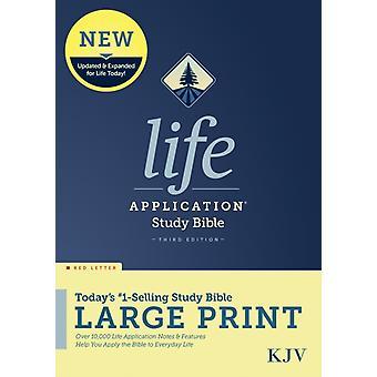 KJV Life Application Study Bible Third Edition Large Print