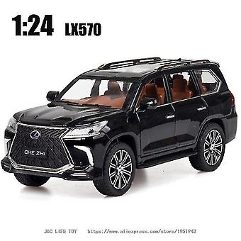 Toy cars 1:24 toy car excellent quality lx570 suv metal car toy alloy car diecasts toy vehicles car