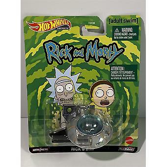 Rick and Morty Rick's Ship Hot Wheels Real Riders GJR47