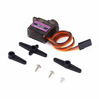 Black 4.8v No Load Mg90 Metal Geared Micro Servo 9g Fit Airplane Helicopter