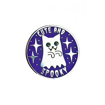 Extreme Largeness Cute And Spooky Enamel Pin