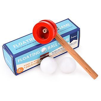 幼児のためのゲームボールインタラクティブブローパイプボールゲームおもちゃ木製トリビュートフローティングボールおもちゃ初期教育玩おもちゃギフト