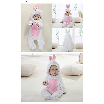 White Rabbit  Baby Rompers Panda Newborn Clothes Baby Girls Boys Romper Infant Clothing Winter Jumpsuit Toddler Baby's Sets Unicorn Pajamas