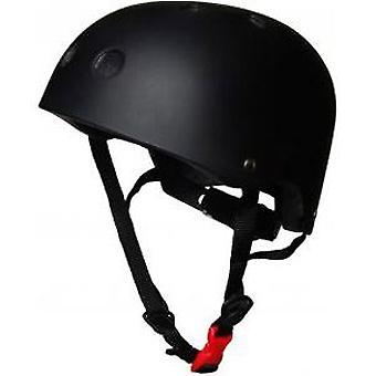 Kiddimoto capacete - preto fosco