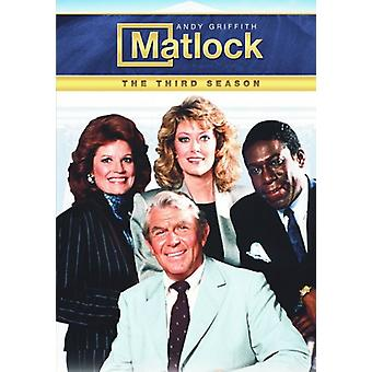 Matlock - Matlock: Tredje sæson [DVD] USA import